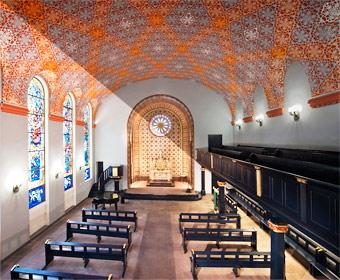 Belichtungsreihe Friedenskirche. Foto © Dietrich Hackenberg