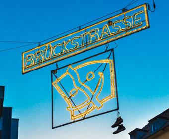 Brückstrasse Dortmund Leuchtreklame