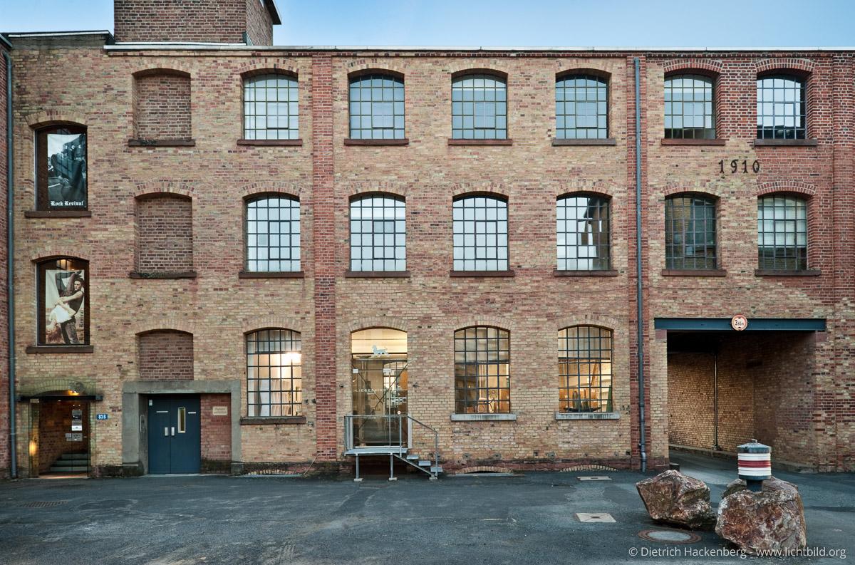 Heyne-Fabrik Offenbach. Foto Dietrich Hackenberg