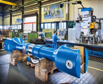 Maschinenfabrik Wiegard. Foto Dietrich Hackenberg