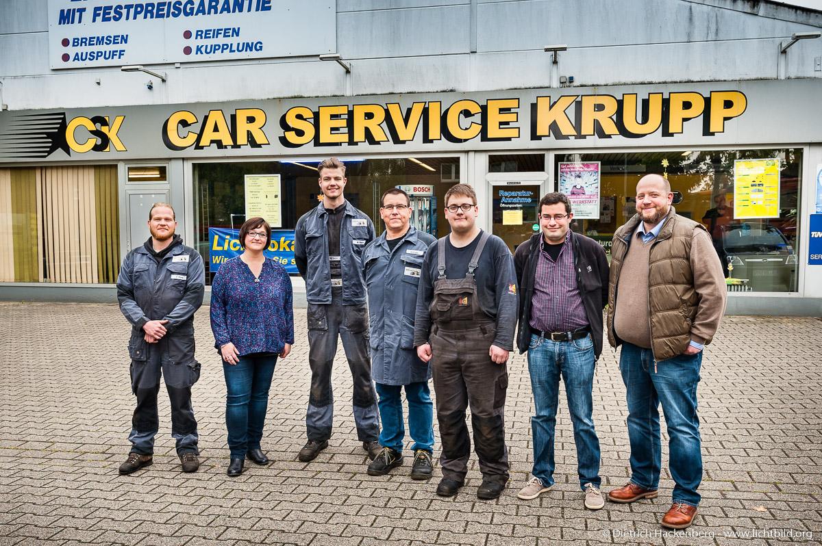 Car Service Krupp, Oberhausen. © G.I.B. / Foto: Dietrich Hackenberg