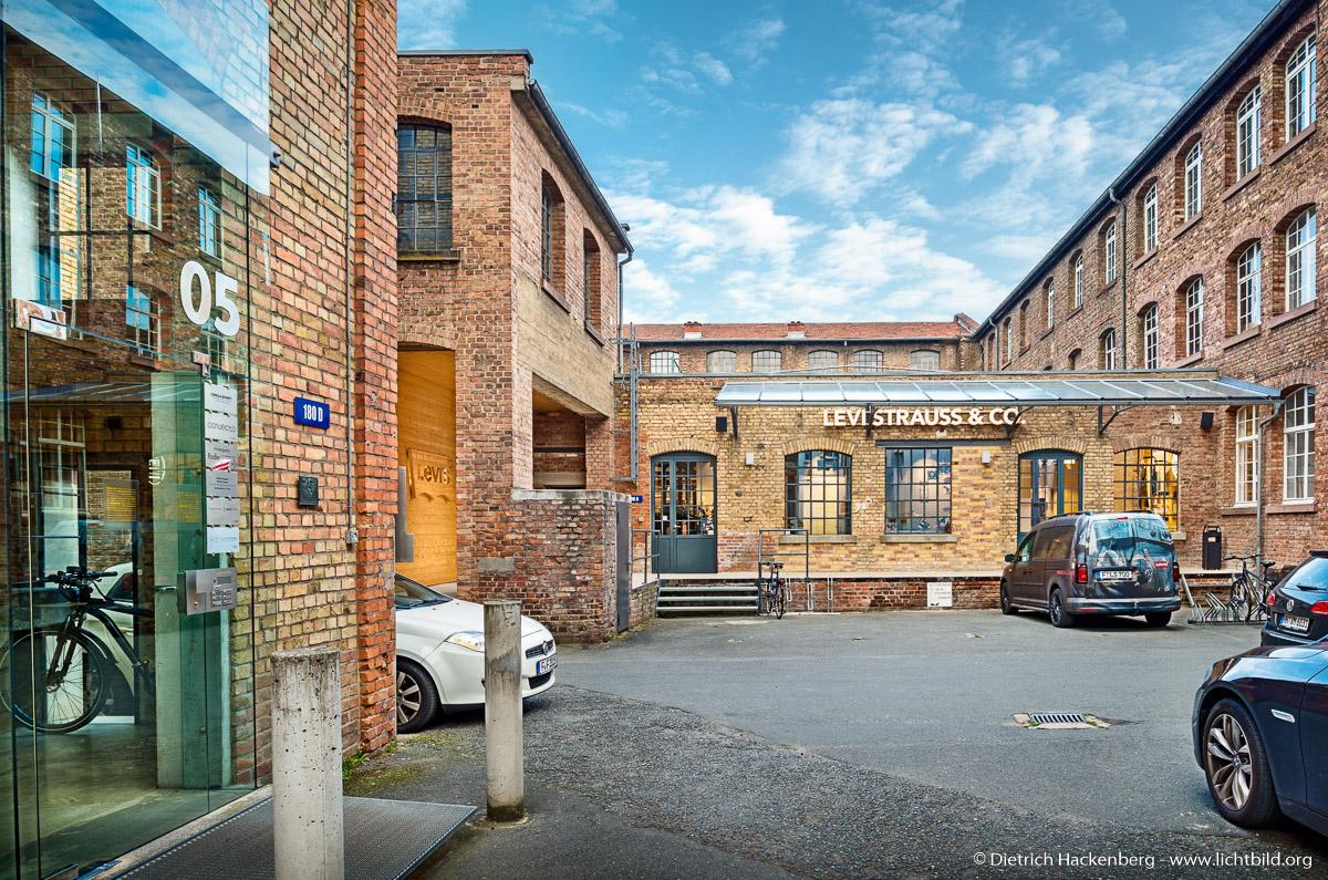Heyne-Fabrik, Offenbach. Foto Dietrich Hackenberg
