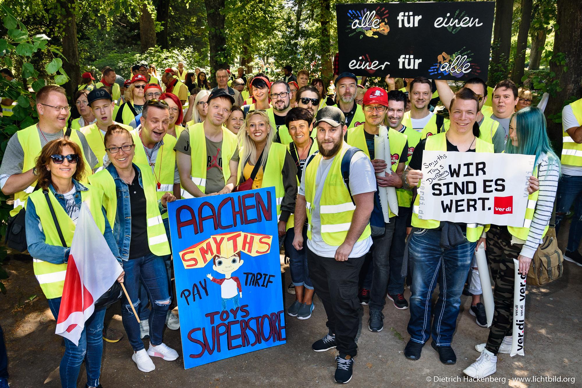 Verdi Streik Düsseldorf