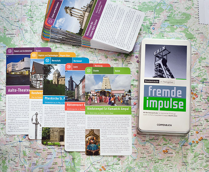 Fremde Impulse Kartenbox. Foto © Dietrich Hackenberg