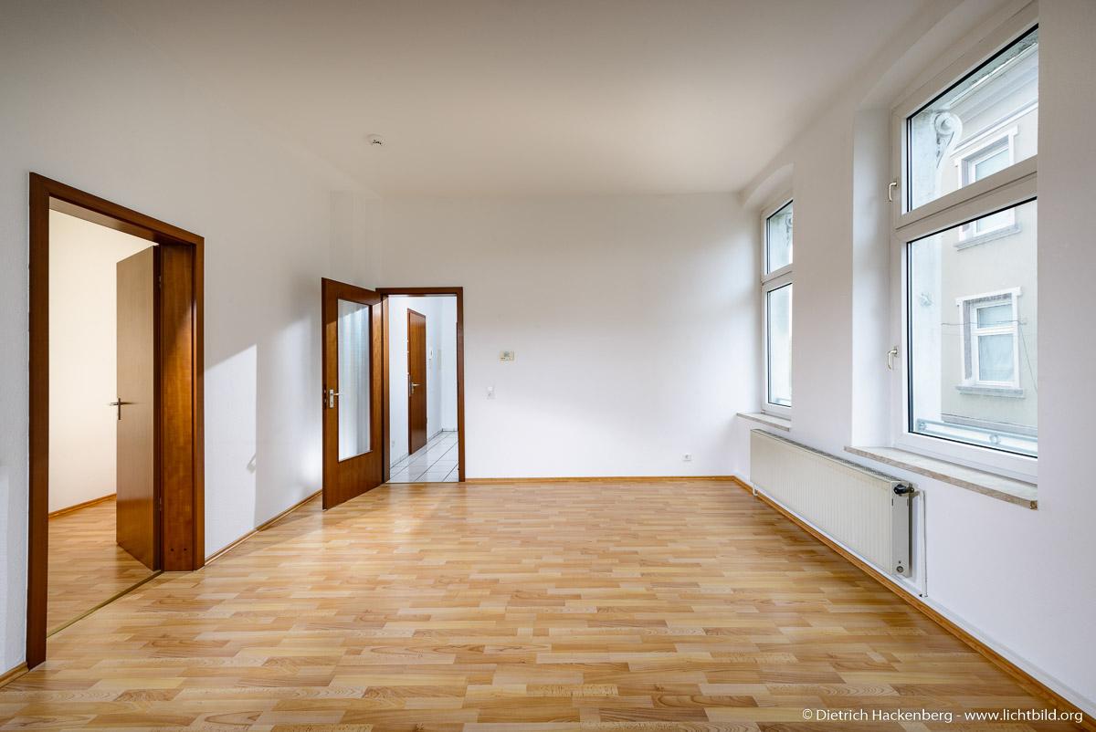 Klassische Mietwohnung fotografieren für die Immobilienanzeige