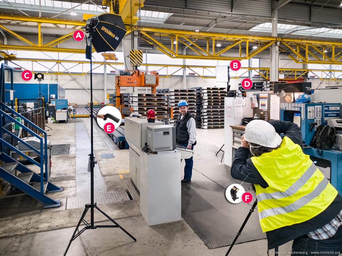 making of Portrait thyssenkrupp Stainless GmbH, Edelstahl-Service-Center Dortmund