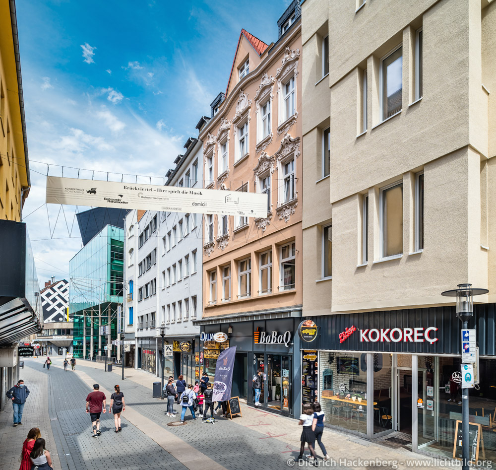Brückstrasse vom Konzerthaus bis zur Hausnummer 11. Foto Dietrich Hackenberg