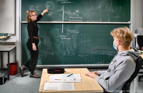 Berufsförderungswerk Köln, Einzelförderung. Foto © Dietrich Hackenberg
