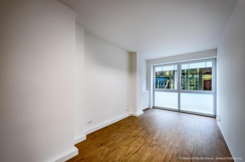 Zimmer mit Blick auf Konzerthaus Immobilie Dortmund - Foto © Dietrich Hackenberg