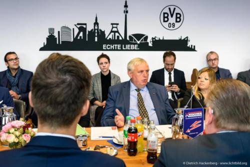 Digital Excellence, Fa. Kocher in Dortmund. Digitalisierungstour von Arbeitsminister Laumann. Foto © Dietrich Hackenberg
