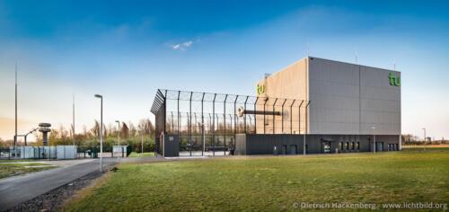 HGÜ-Testzentrum Dortmund - Totale Aussen tu Dortmund Foto Dietrich Hackenberg