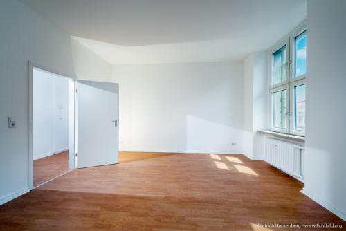 Mietwohnung Wuppertal, Immobilienfotografie. Foto Dietrich Hackenberg