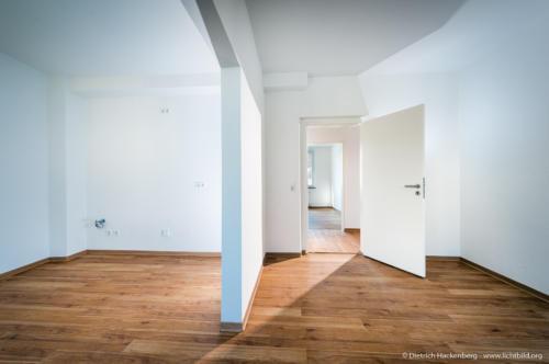 Mietwohnung Dortmund, Immobilienfotografie. Foto Dietrich Hackenberg