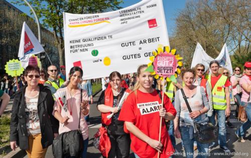 Zentrale Streikveranstaltung in Dortmund © Dietrich Hackenberg - www.lichtbild.org