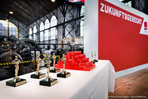 ver.di Handel NRW Streikkonferenz am 13.09.2019 in der Maschinenhalle der Zeche Zollern in Dortmund. Foto © Dietrich Hackenberg